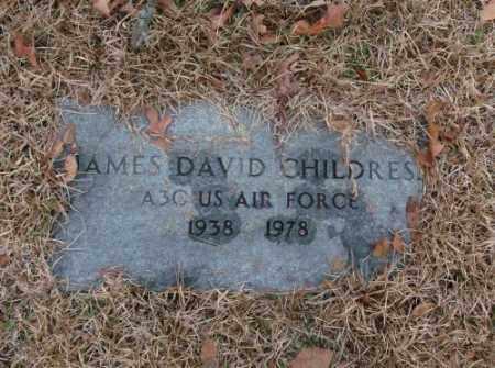 CHILDRESS (VETERAN), JAMES DAVID - Saline County, Arkansas | JAMES DAVID CHILDRESS (VETERAN) - Arkansas Gravestone Photos