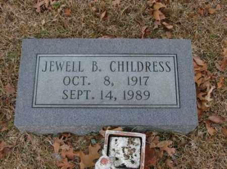 CHILDRESS, JEWELL B. - Saline County, Arkansas | JEWELL B. CHILDRESS - Arkansas Gravestone Photos