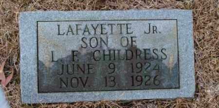 CHILDRESS, LAFAYETTE, JR. - Saline County, Arkansas | LAFAYETTE, JR. CHILDRESS - Arkansas Gravestone Photos