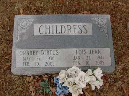 CHILDRESS, LOIS JEAN - Saline County, Arkansas | LOIS JEAN CHILDRESS - Arkansas Gravestone Photos