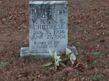 CHILDRESS, ROBERT EARL - Saline County, Arkansas | ROBERT EARL CHILDRESS - Arkansas Gravestone Photos
