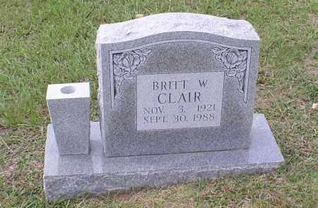 CLAIR, BRITT W - Saline County, Arkansas | BRITT W CLAIR - Arkansas Gravestone Photos