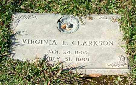CLARKSON, VIRGINIA L. - Saline County, Arkansas | VIRGINIA L. CLARKSON - Arkansas Gravestone Photos