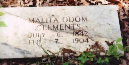 CLEMENTS, MALITA - Saline County, Arkansas | MALITA CLEMENTS - Arkansas Gravestone Photos