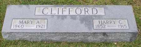 CLIFFORD, MARY A. - Saline County, Arkansas | MARY A. CLIFFORD - Arkansas Gravestone Photos