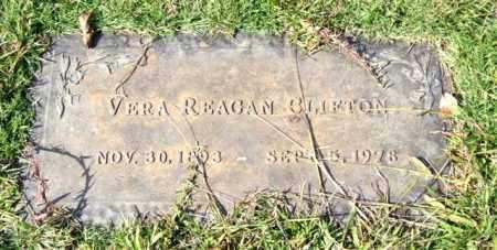 REAGAN CLIFTON, VERA - Saline County, Arkansas | VERA REAGAN CLIFTON - Arkansas Gravestone Photos