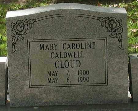 CLOUD, MARY CAROLINE - Saline County, Arkansas | MARY CAROLINE CLOUD - Arkansas Gravestone Photos