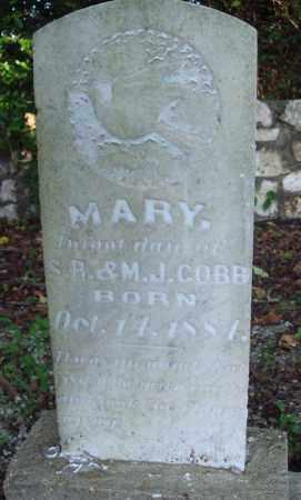 COBB, MARY - Saline County, Arkansas | MARY COBB - Arkansas Gravestone Photos