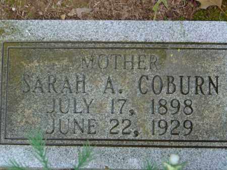 WHITE COBURN, SARAH ADALLINE - Saline County, Arkansas | SARAH ADALLINE WHITE COBURN - Arkansas Gravestone Photos