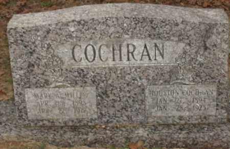 MILLER COCHRAN, MARY A - Saline County, Arkansas | MARY A MILLER COCHRAN - Arkansas Gravestone Photos