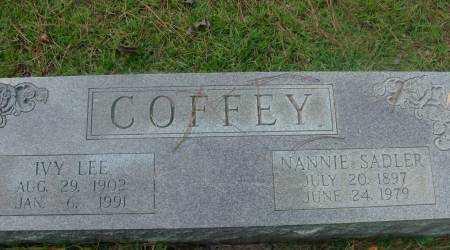 COFFEY, IVY - Saline County, Arkansas | IVY COFFEY - Arkansas Gravestone Photos