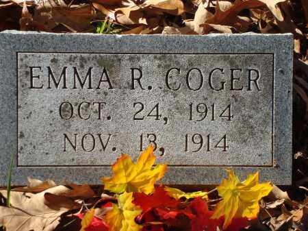 COGER, EMMA R - Saline County, Arkansas | EMMA R COGER - Arkansas Gravestone Photos
