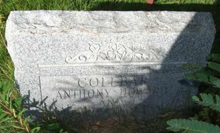 COLEBAR, ANTHONY HOWARD - Saline County, Arkansas | ANTHONY HOWARD COLEBAR - Arkansas Gravestone Photos