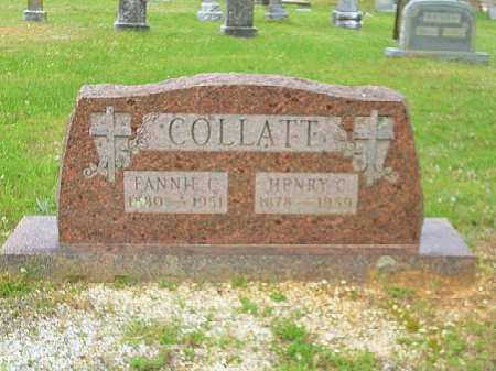 COLLATT, HENRY C. - Saline County, Arkansas | HENRY C. COLLATT - Arkansas Gravestone Photos