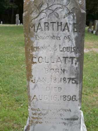 COLLATT, MARTHA E. - Saline County, Arkansas | MARTHA E. COLLATT - Arkansas Gravestone Photos