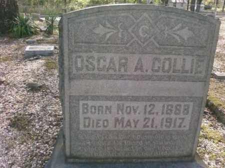 COLLIE, OSCAR A. - Saline County, Arkansas   OSCAR A. COLLIE - Arkansas Gravestone Photos