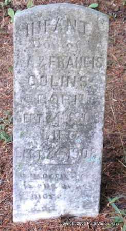 COLLINS, INFANT DAUGHTER - Saline County, Arkansas | INFANT DAUGHTER COLLINS - Arkansas Gravestone Photos