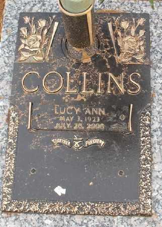 COLLINS, LUCY ANN - Saline County, Arkansas | LUCY ANN COLLINS - Arkansas Gravestone Photos