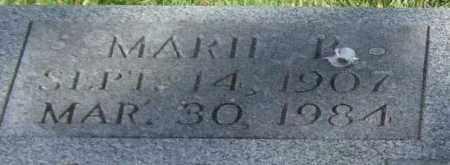 COLLINS, MARIE B. (CLOSEUP) - Saline County, Arkansas   MARIE B. (CLOSEUP) COLLINS - Arkansas Gravestone Photos