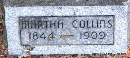 COLLINS, MARTHA - Saline County, Arkansas | MARTHA COLLINS - Arkansas Gravestone Photos