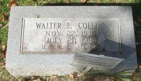 COLLINS (VETERAN), WALTER E. - Saline County, Arkansas | WALTER E. COLLINS (VETERAN) - Arkansas Gravestone Photos