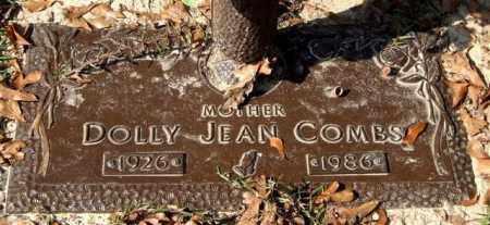 COMBS, DOLLY JEAN - Saline County, Arkansas   DOLLY JEAN COMBS - Arkansas Gravestone Photos