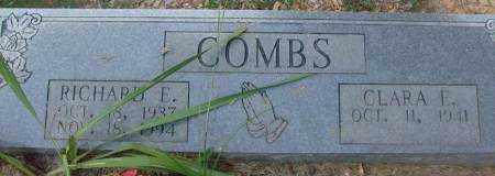 COMBS, RICHARD E - Saline County, Arkansas | RICHARD E COMBS - Arkansas Gravestone Photos