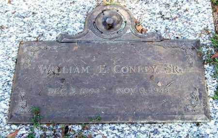 CONLEY, SR., WILLIAM E. - Saline County, Arkansas | WILLIAM E. CONLEY, SR. - Arkansas Gravestone Photos