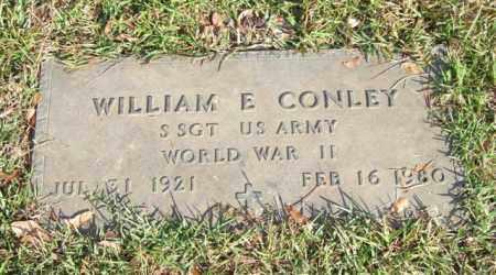 CONLEY (VETERAN WWII), WILLIAM E - Saline County, Arkansas   WILLIAM E CONLEY (VETERAN WWII) - Arkansas Gravestone Photos