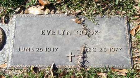 COOK, EVELYN - Saline County, Arkansas   EVELYN COOK - Arkansas Gravestone Photos