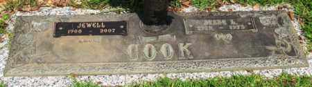 COOK, JEWELL - Saline County, Arkansas | JEWELL COOK - Arkansas Gravestone Photos