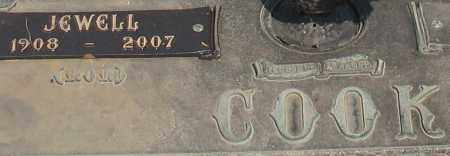 MILES COOK, JEWELL (CLOSEUP) - Saline County, Arkansas | JEWELL (CLOSEUP) MILES COOK - Arkansas Gravestone Photos
