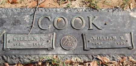 COOK, WILLIAM M. - Saline County, Arkansas | WILLIAM M. COOK - Arkansas Gravestone Photos