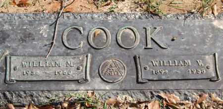 COOK, WILLIAM V. - Saline County, Arkansas | WILLIAM V. COOK - Arkansas Gravestone Photos