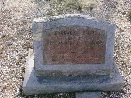 COOPER, BARBARA - Saline County, Arkansas | BARBARA COOPER - Arkansas Gravestone Photos