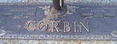 CORBIN, LOU R. - Saline County, Arkansas | LOU R. CORBIN - Arkansas Gravestone Photos