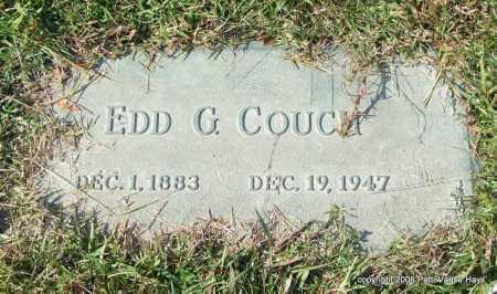 COUCH, EDD G. - Saline County, Arkansas | EDD G. COUCH - Arkansas Gravestone Photos