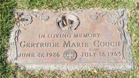 COUCH, GERTRUDE MARIE - Saline County, Arkansas | GERTRUDE MARIE COUCH - Arkansas Gravestone Photos