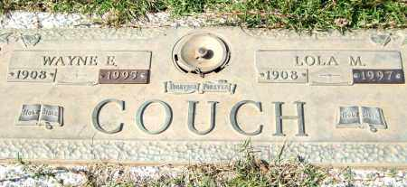 COUCH, WAYNE E - Saline County, Arkansas | WAYNE E COUCH - Arkansas Gravestone Photos