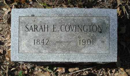 COVINGTON, SARAH E. - Saline County, Arkansas | SARAH E. COVINGTON - Arkansas Gravestone Photos
