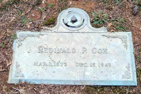 COX, REGINALD P. - Saline County, Arkansas | REGINALD P. COX - Arkansas Gravestone Photos