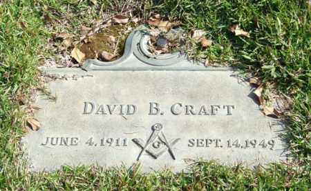 CRAFT, DAVID B. - Saline County, Arkansas   DAVID B. CRAFT - Arkansas Gravestone Photos