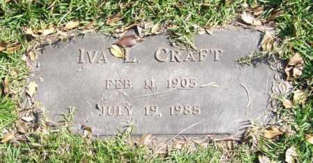 CRAFT, IVA L. - Saline County, Arkansas | IVA L. CRAFT - Arkansas Gravestone Photos