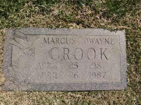 CROOK, MARCUS DWAYNE - Saline County, Arkansas | MARCUS DWAYNE CROOK - Arkansas Gravestone Photos