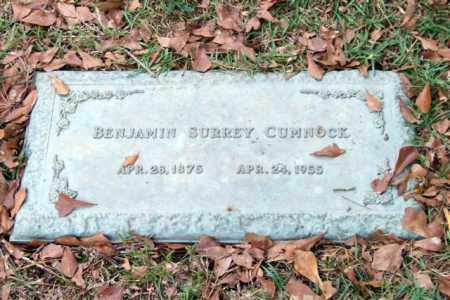 CUMNOCK, BENJAMIN SURREY - Saline County, Arkansas   BENJAMIN SURREY CUMNOCK - Arkansas Gravestone Photos