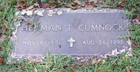 CUMNOCK, HERMAN T. - Saline County, Arkansas | HERMAN T. CUMNOCK - Arkansas Gravestone Photos