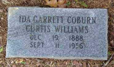 GARRETT CURTIS, COBURN, WILLIA, IDA - Saline County, Arkansas | IDA GARRETT CURTIS, COBURN, WILLIA - Arkansas Gravestone Photos