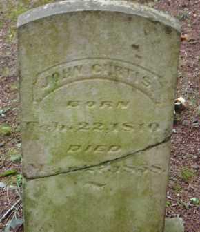 CURTIS, JOHN CALVIN - Saline County, Arkansas   JOHN CALVIN CURTIS - Arkansas Gravestone Photos