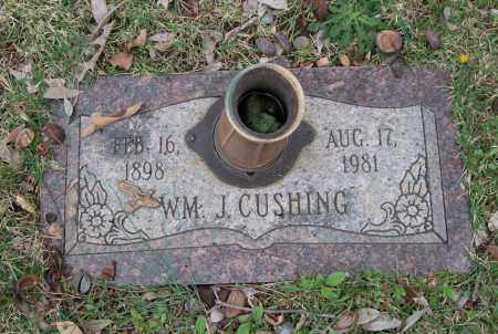 CUSHING, WILLIAM J - Saline County, Arkansas | WILLIAM J CUSHING - Arkansas Gravestone Photos
