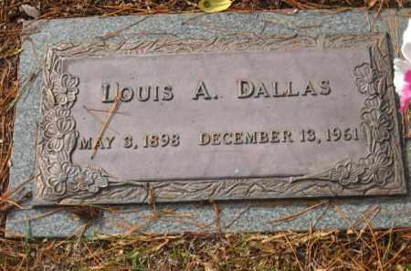 DALLAS, LOUIS A. - Saline County, Arkansas | LOUIS A. DALLAS - Arkansas Gravestone Photos